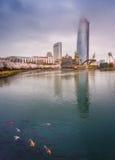 Lotte World, parc d'attractions Photographie stock libre de droits