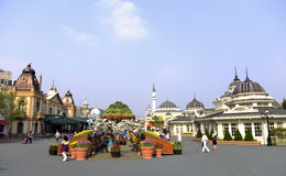 Lotte World, South Korea Royalty Free Stock Images