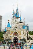 Lotte World Theme Park (Seoul, Korea) royalty free stock photography