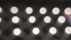 Lotten av härliga ljusa ljus går till Defocus lager videofilmer