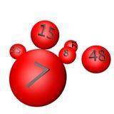lotteri Arkivbild