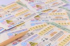 Lotteri Thailand Royaltyfri Fotografi