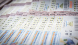 Lotteria tailandese Immagine Stock