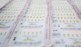 Lotteria tailandese Fotografie Stock Libere da Diritti