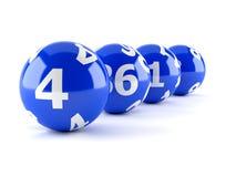 Lotteribollar vektor illustrationer