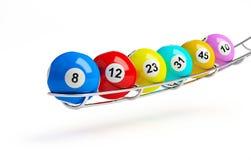 Lotterie Stockfotos