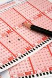 Lotterie stockfoto