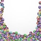 Lotterie-Bälle Lizenzfreie Stockfotos