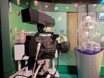Lotterie Fernsehstudio Stockfoto