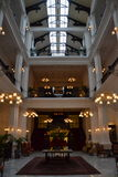 Lotterie-Singapur-Lobby Stockbild