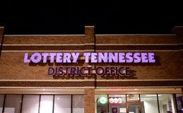 Lotterie Tennessee District Office stockfoto