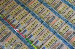 Lotterie thailändisch stockbild