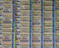 Lotterie thailändisch lizenzfreie stockfotos