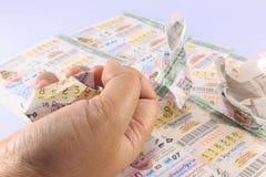 Lotterie Thailand Lizenzfreie Stockbilder