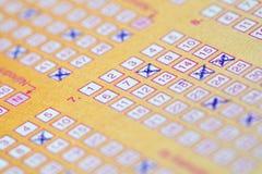 Lottery Royalty Free Stock Photo