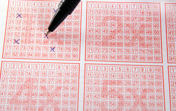 Lottery Stock Photography