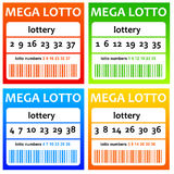 Lottery Royalty Free Stock Images