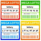 Lottery stock illustration