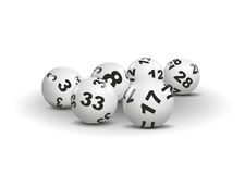 Lottery Royalty Free Stock Photo