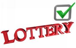 lottery Fotografia Stock