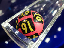 Lottery balls, lucky numbers Royalty Free Stock Image