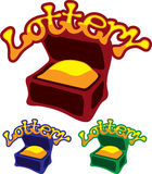 Lottery Chest Royalty Free Stock Photos