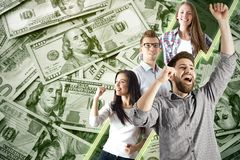 Lottery concept Royalty Free Stock Images