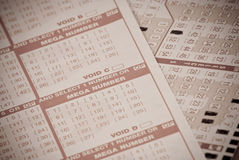 Lottery Gambling Royalty Free Stock Image