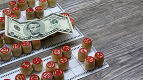 Lottery and gambling. lottery and gambling.ottery and gambling.win big money. Win the lottery. Lotto game. Tabletop old lotto game. Lottery and gambling. lottery stock photography