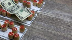 Lottery and gambling. lottery and gambling.ottery and gambling.win big money. Win the lottery. Lotto game. Tabletop old lotto game. Lottery and gambling. lottery stock photo