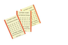 Lottery Retirement Royalty Free Stock Images