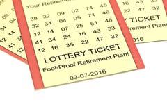 Lottery Retirement Stock Photos