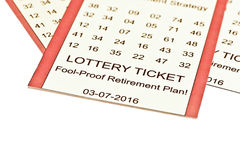 Lottery Retirement Stock Images