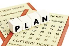 Lottery Retirement Stock Photo