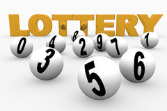 Lottery Royalty Free Stock Photography