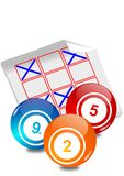 Lottery ticket Royalty Free Stock Photo