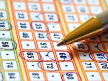 Lottery ticket Royalty Free Stock Image