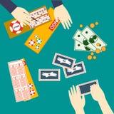 Lottery Vector illustration stock illustration