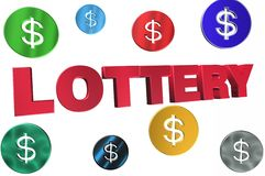 LOTTERY Royalty Free Stock Photos