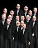 Lotti degli uomini adatti 3 Fotografie Stock Libere da Diritti