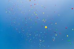 Lotti dei baloons dell'elio Fotografia Stock Libera da Diritti
