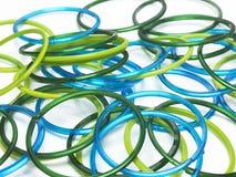 Lotti dei braccialetti Immagine Stock