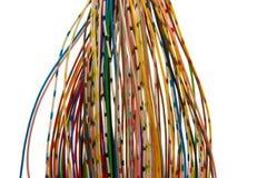 Lotti dei collegare colorati Fotografia Stock