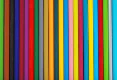 Lotti dei pastelli della matita Fotografia Stock Libera da Diritti