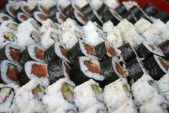 Lotti dei sushi Fotografie Stock Libere da Diritti
