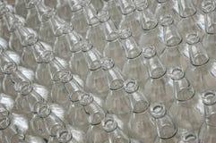 Lotti delle bottiglie di vetro Immagine Stock Libera da Diritti