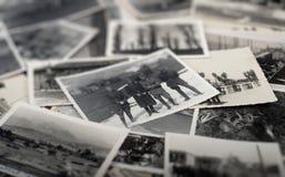 Lotti delle foto dell'annata Fotografie Stock Libere da Diritti
