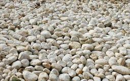 Lotti delle pietre bianche Fotografie Stock Libere da Diritti
