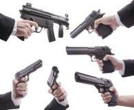 Lotti delle pistole Fotografia Stock Libera da Diritti