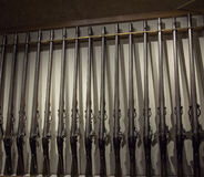 Lotti delle pistole Immagini Stock Libere da Diritti